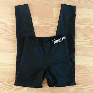 Nike pro Dri fit leggings black small